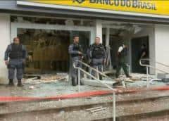 Veintena de ladrones roba banco brasileño, en segundo ataque de ese tipo en dos días