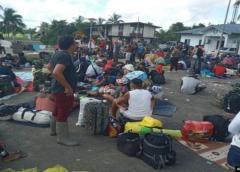 Cientos de hondureños parten en una caravana hacia EEUU