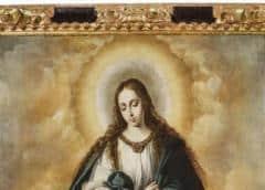 Sacan a la luz la primera Inmaculada de Murillo, pintada en torno a 1645