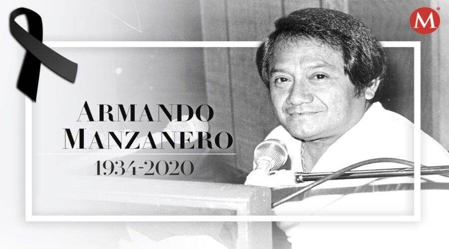 Murió Armando Manzanero a los 86 años