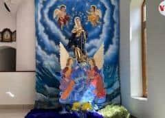 Nicaragüenses mantienen viva tradición a la Virgen María pese a la pandemia y la crisis