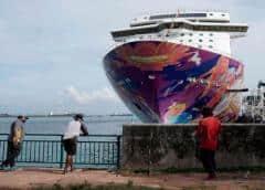 Cruceros a ninguna parte en Singapur, pero con el coronavirus a bordo