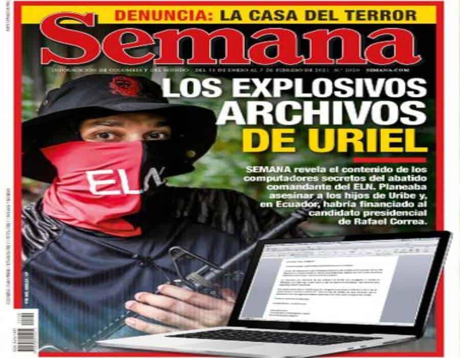 Revista Semana sostiene que existirían archivos del ELN que señalan aporte de campaña a candidato presidencial de Andrés Arauz