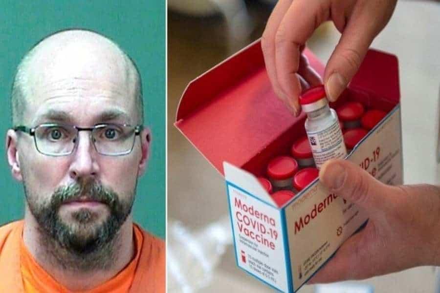 Quién es Steven Brandenburg, el farmacéutico que descongeló y arruinó a propósito 500 vacunas de Moderna contra el coronavirus