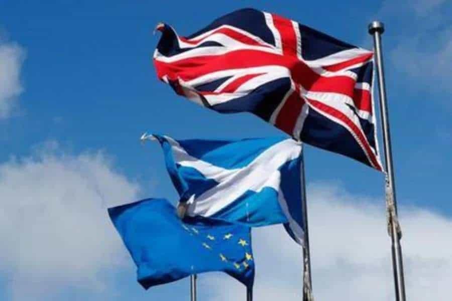 Aludiendo a Escocia, Johnson dice que los referéndums deben celebrarse una vez por generación