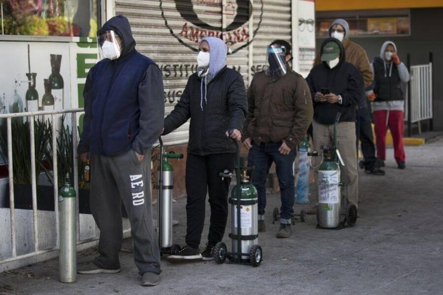 México: Se complica conseguir oxígeno ante repunte de COVID