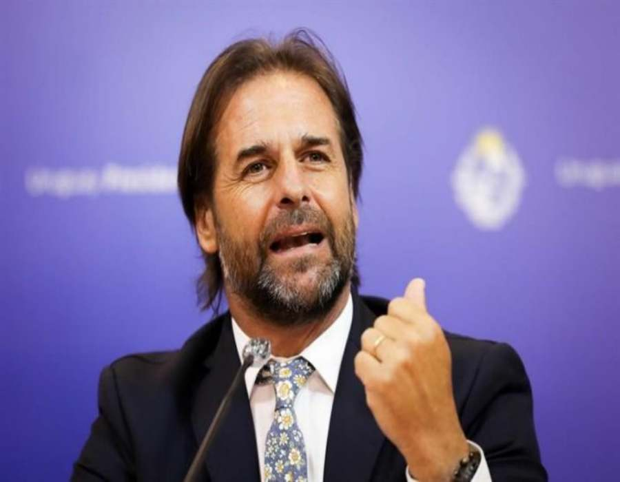 Lacalle Pou visita a Bolsonaro en su primera salida oficial como presidente