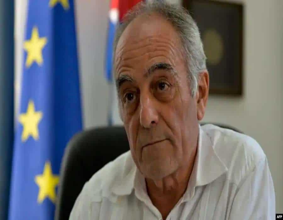 Piden destitución del embajador de la UE en Cuba por alinearse abiertamente con el régimen
