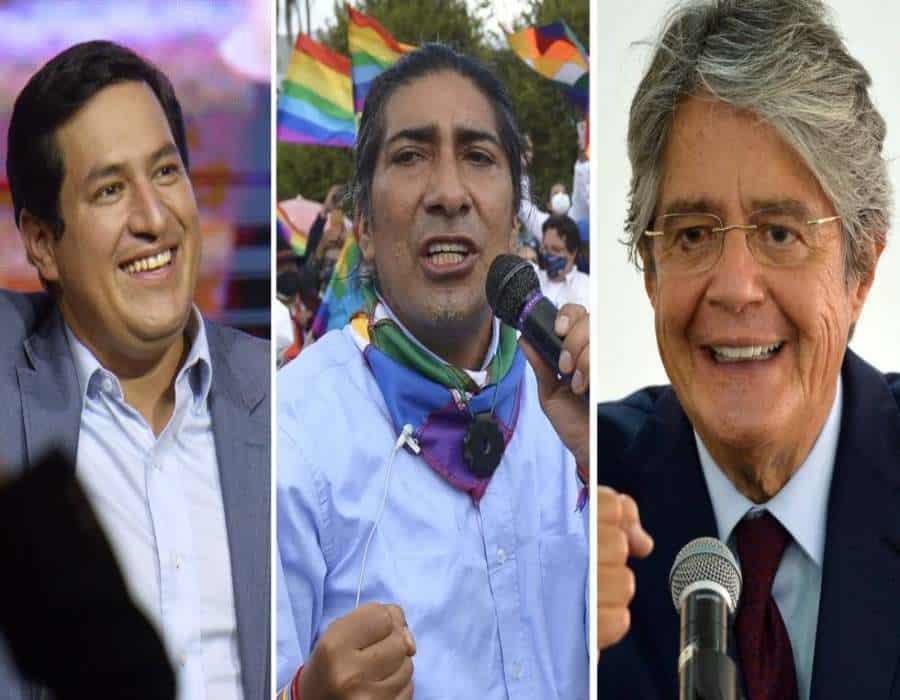 Arauz gana elecciones en Ecuador con 32,22% y hay empate técnico en el segundo puesto