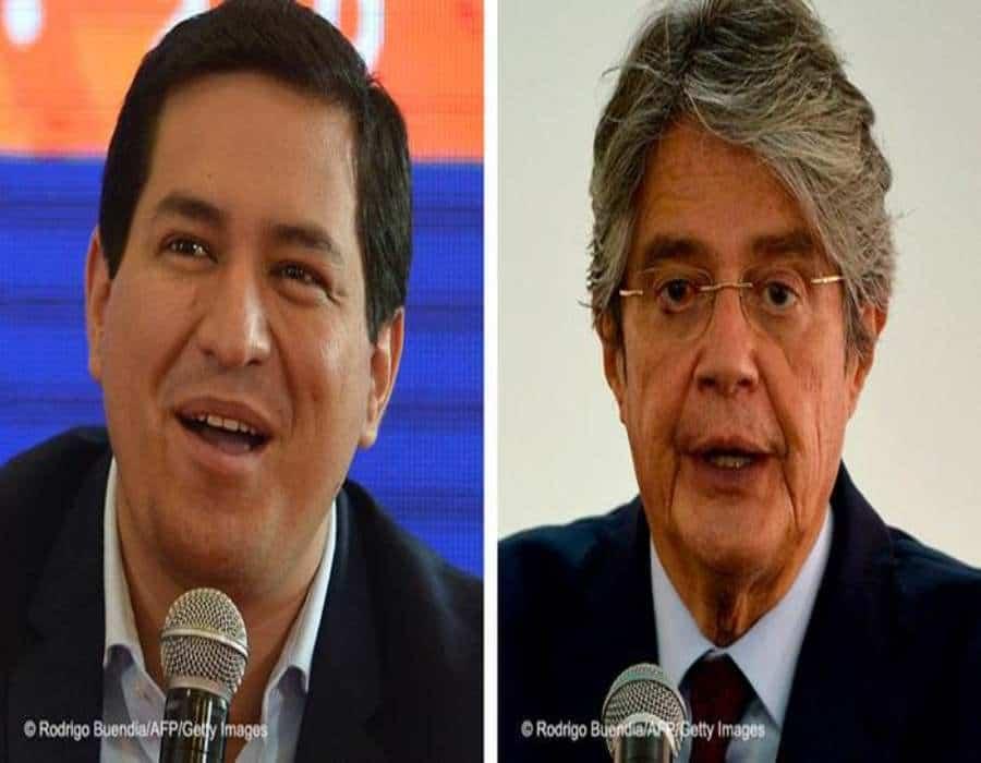 Arauz y Lasso van a segunda vuelta en presidenciales de Ecuador