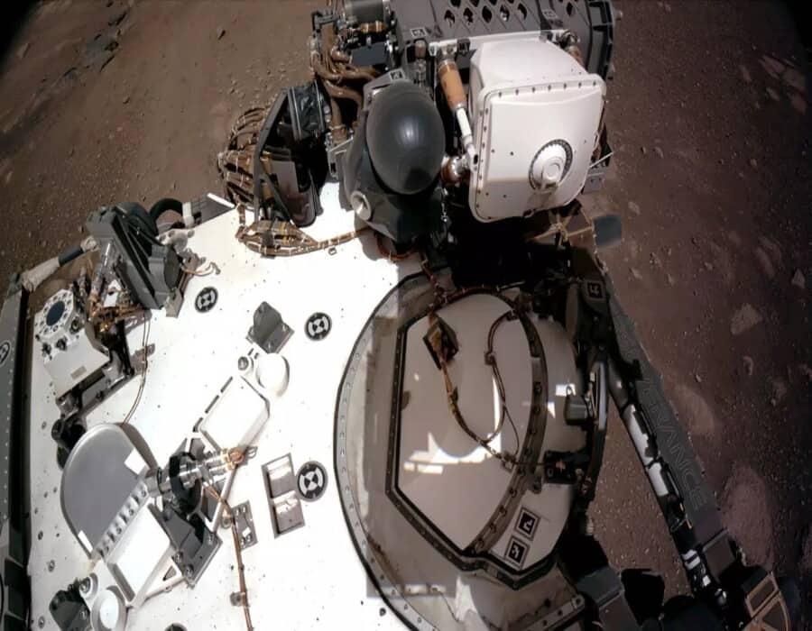 La NASA comparte nuevos vídeos y sonidos de Marte grabados por Perseverance