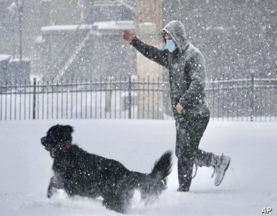 Tormenta invernal avanza hacia el noreste tras matar ya a al menos 2 personas