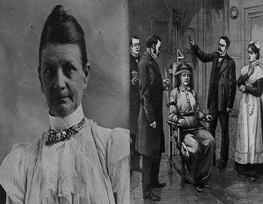 La primera mujer electrocutada en la silla eléctrica