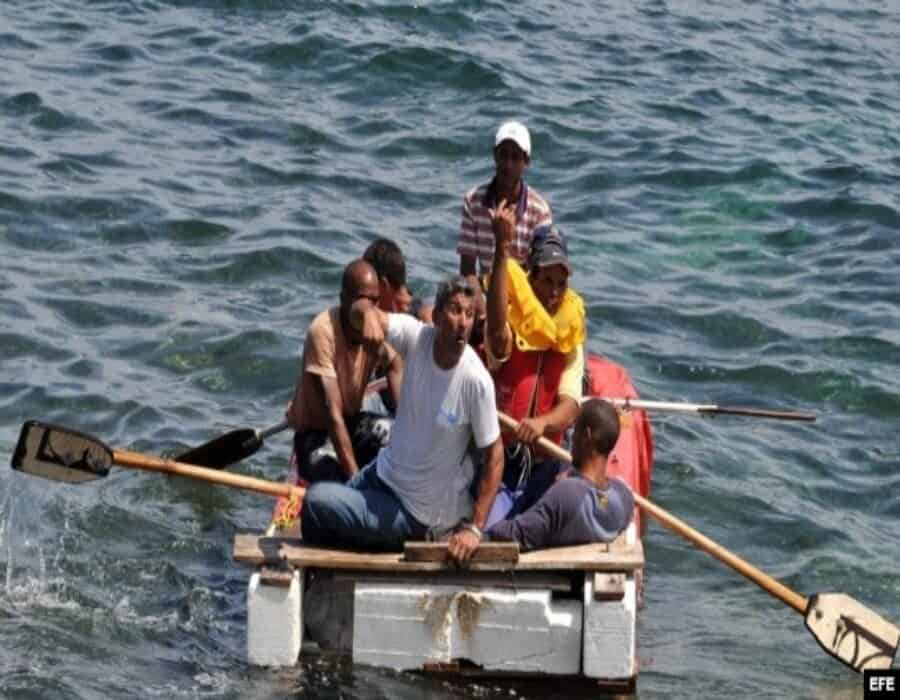 Bahamas reporta intensa actividad de balseros cubanos: un muerto, dos mujeres con quemaduras y 5 desaparecidos (VIDEO)