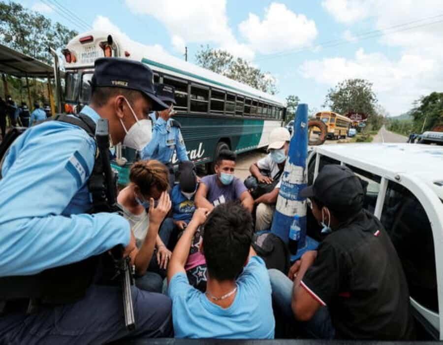 Disuelta en Honduras la caravana de migrantes que salió rumbo a EE.UU