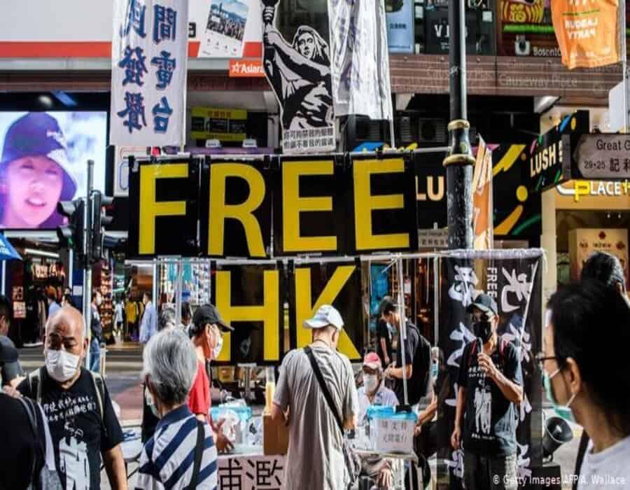 Tribunal dicta cárcel para siete opositores y activistas hongkoneses