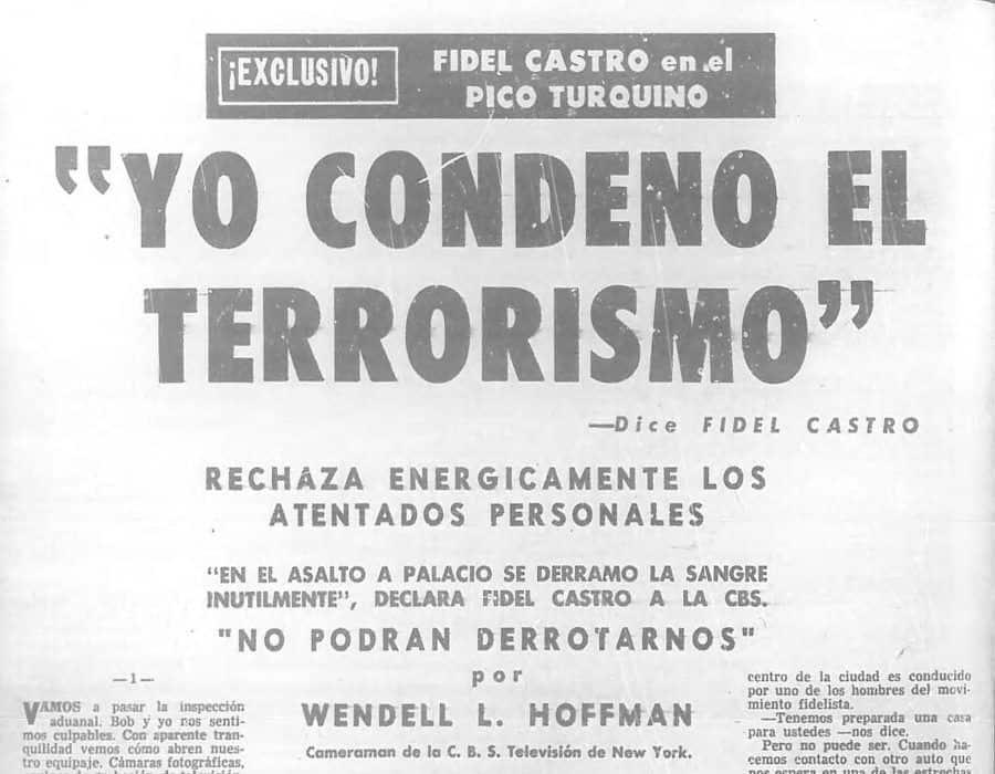 Fidel Castro, el político más mentiroso y cínico de la historia de Cuba