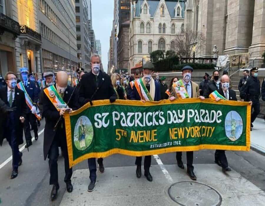 Desfile de San Patricio virtual en NY debido a la pandemia