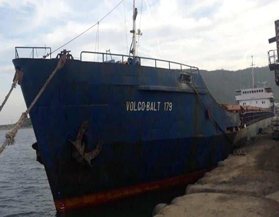 Un buque granelero ruso se hundió en el Mar Negro