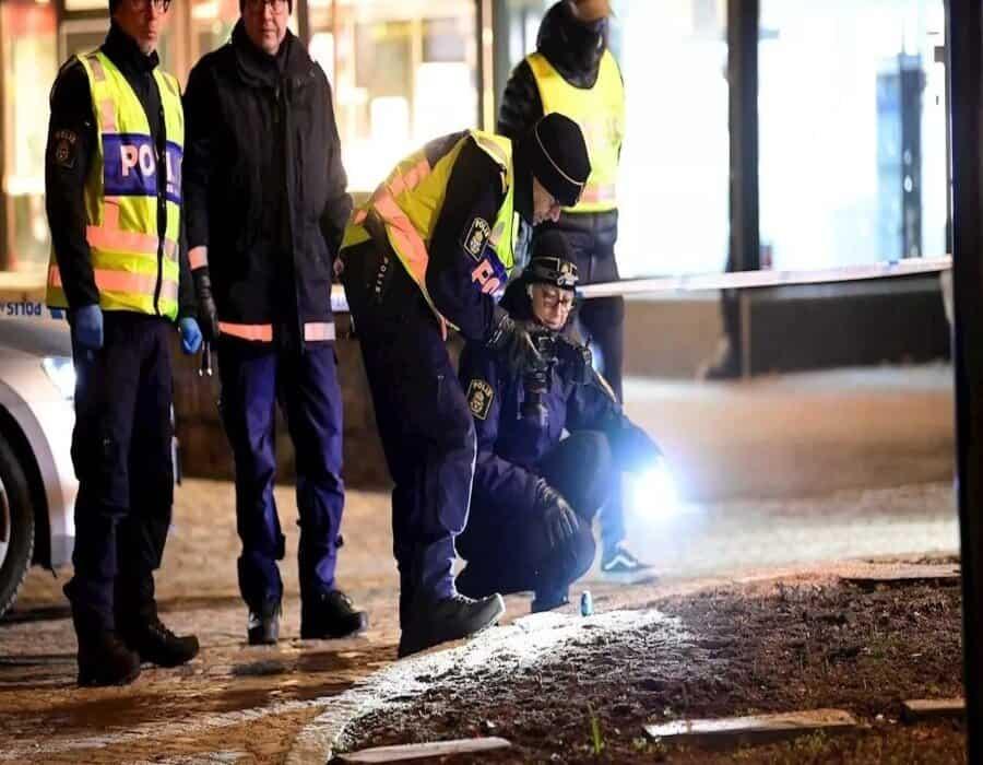 Cinco heridos graves tras el ataque con hacha en Suecia
