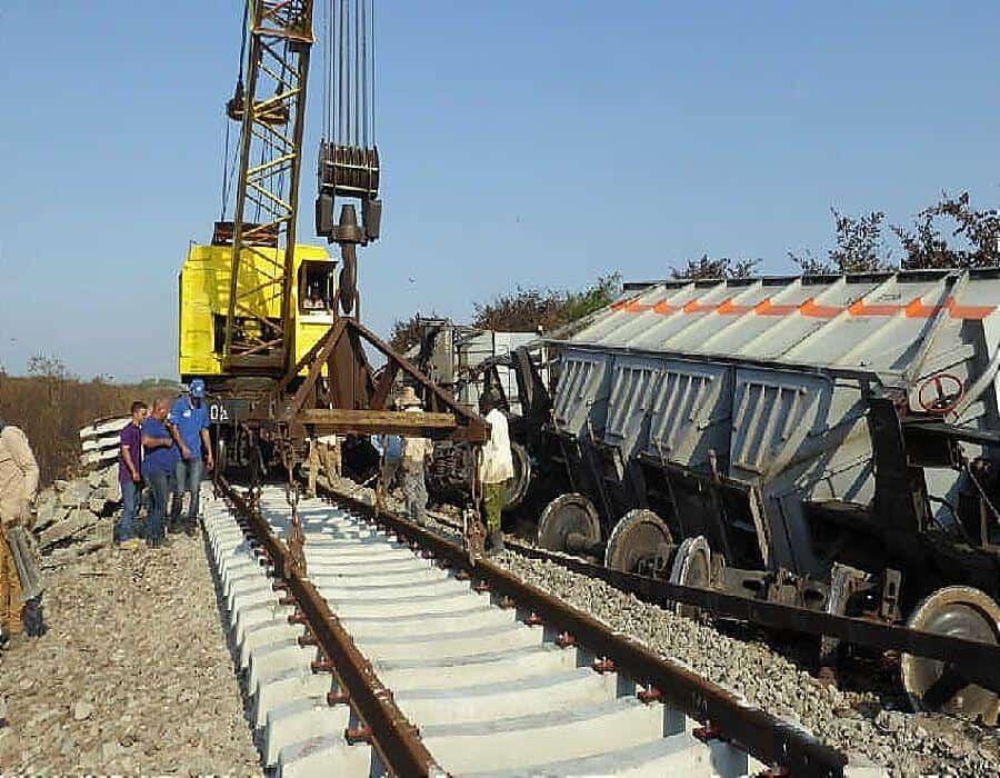 Reportan descarrilamiento de un tren en Cuba