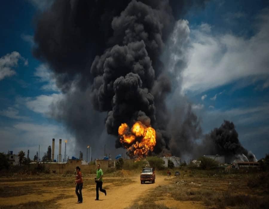 Una explosión golpea a un gasoducto venezolano