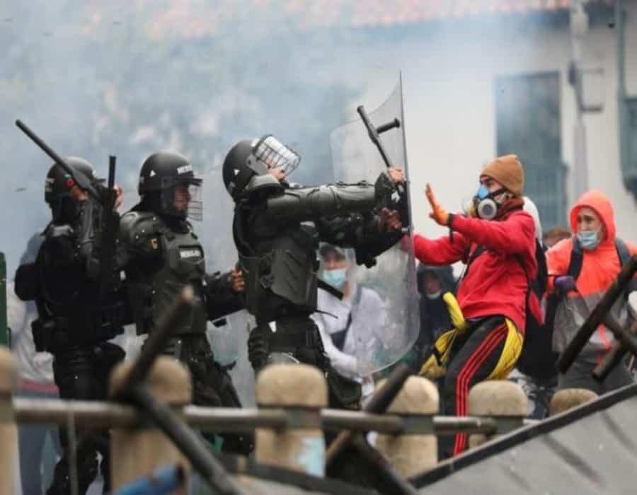 Congresista denuncia infiltración de Cuba y Venezuela en las protestas en Colombia