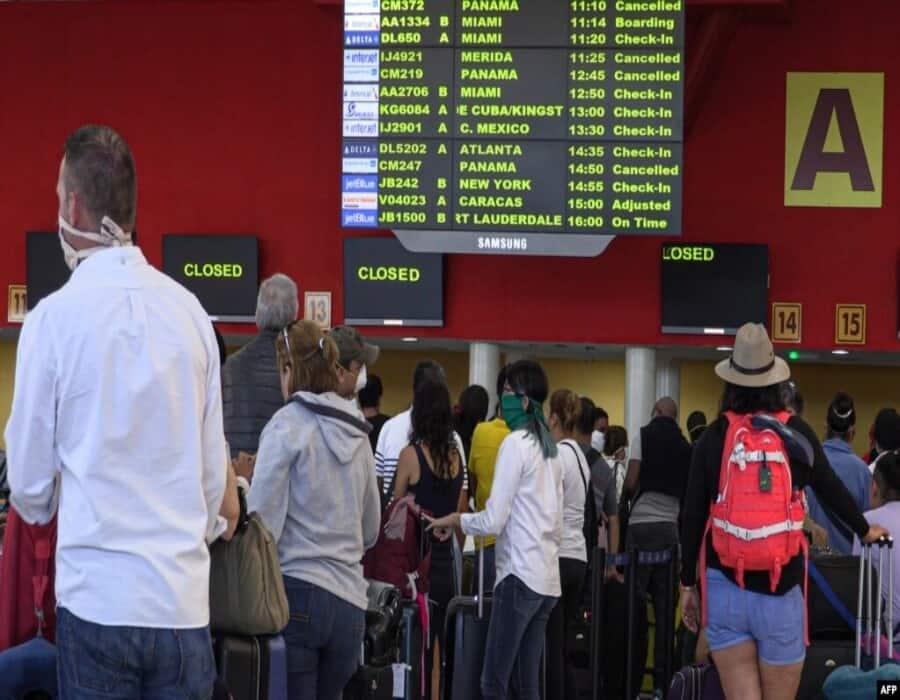 Organizan vuelos chárter de EEUU a Cuba para evacuar a los varados por la pandemia