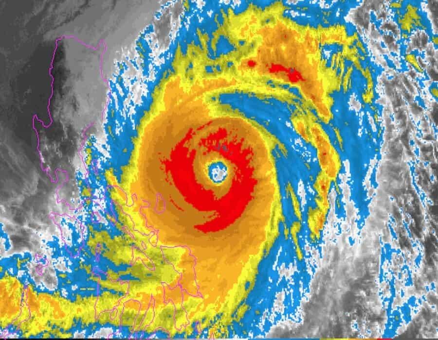 Filipinas: 100.000 desplazados ante la llegada de un tifón
