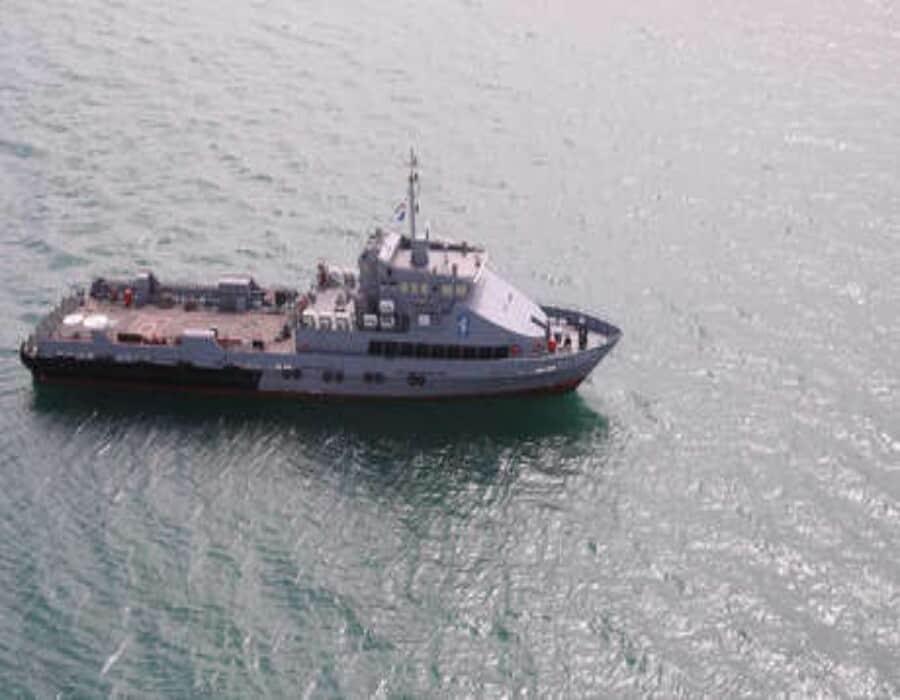 Atacan un barco iraní que servía de base en el Mar Rojo