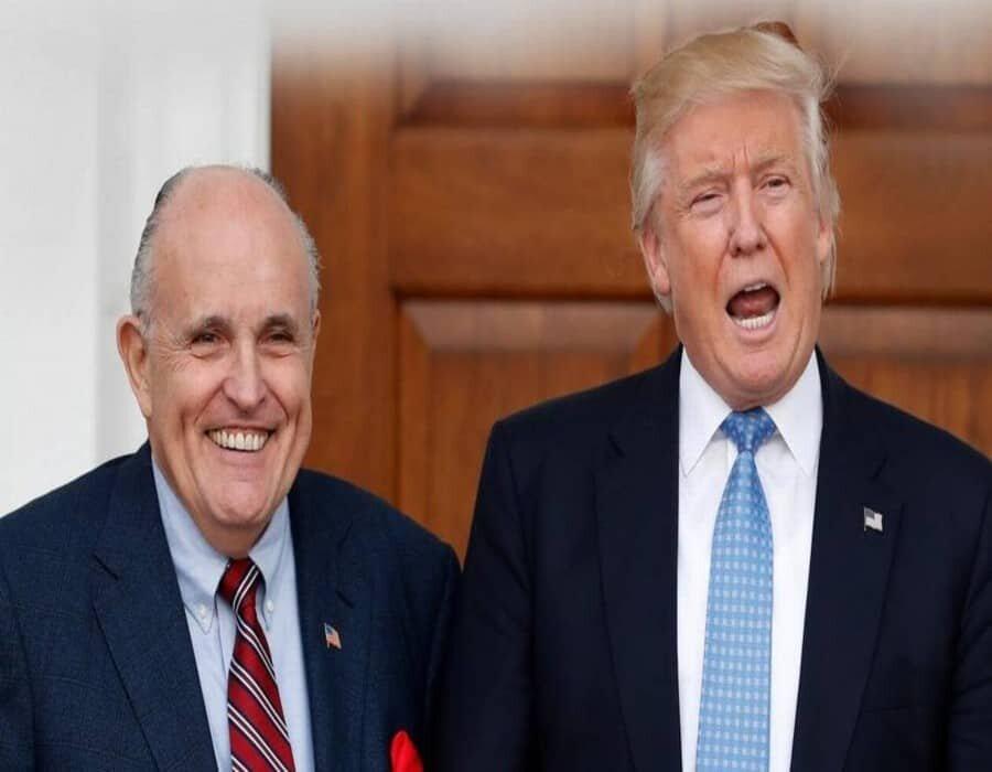 Trump critica el injusto salto al apartamento del patriota Rudy Giuliani