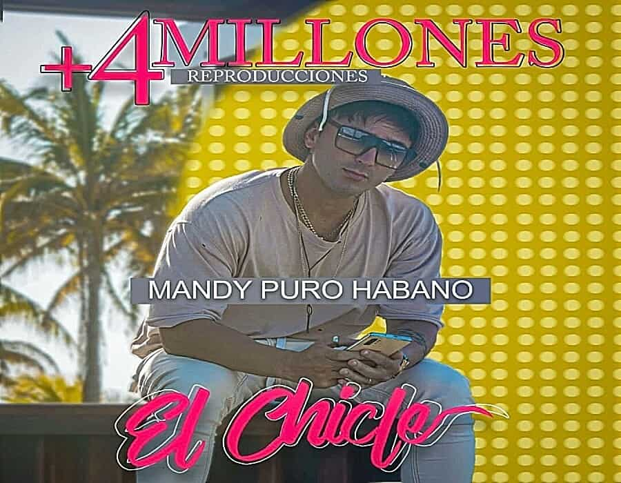 """Tema """"El Chiche"""" de Mandy Puro Habano supera ya los 4 millones de views"""