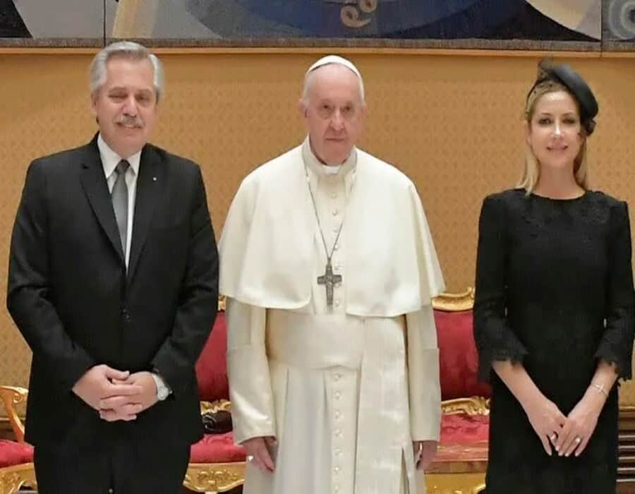 La gira de Alberto Fernández: Fabiola Yañez se quedará en Roma para participar de un evento con el Papa el próximo jueves