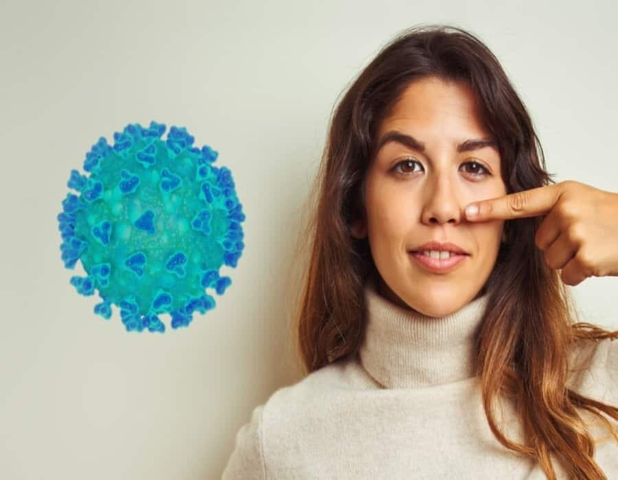 Descubren a qué se debe la pérdida del olfato en pacientes con covid