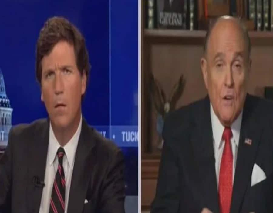 Giuliani dice en entrevista a Tucker Carlson que ofreció a los agentes del FBI la computadora portátil de Hunter Biden durante la redada