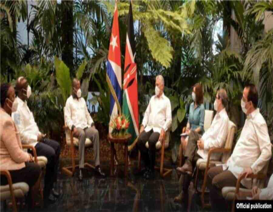 Cuba y Kenia en reunión de alto nivel sobre Salud, sin mencionar progreso alguno en el rescate de médicos secuestrados