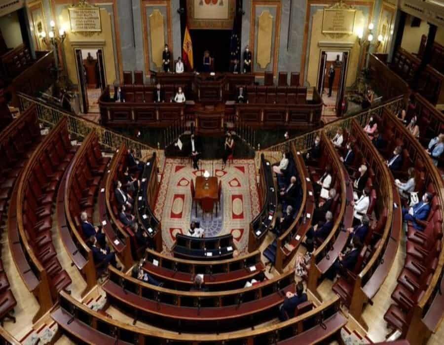 PP y Vox no acuden al homenaje celebrado en el Congreso en el Día de las Víctimas del Terrorismo