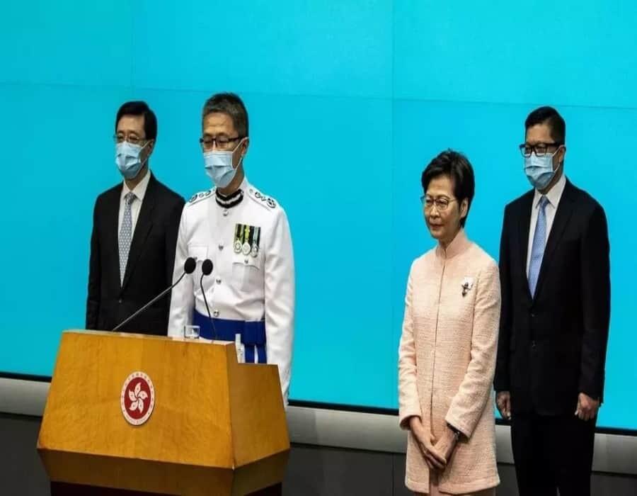 El jefe de la policía de Hong Kong pide una ley contra noticias falsas
