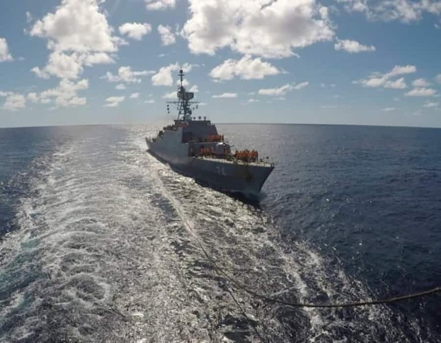 Buques de guerra iraníes sacuden a Washington al cruzar el Atlántico