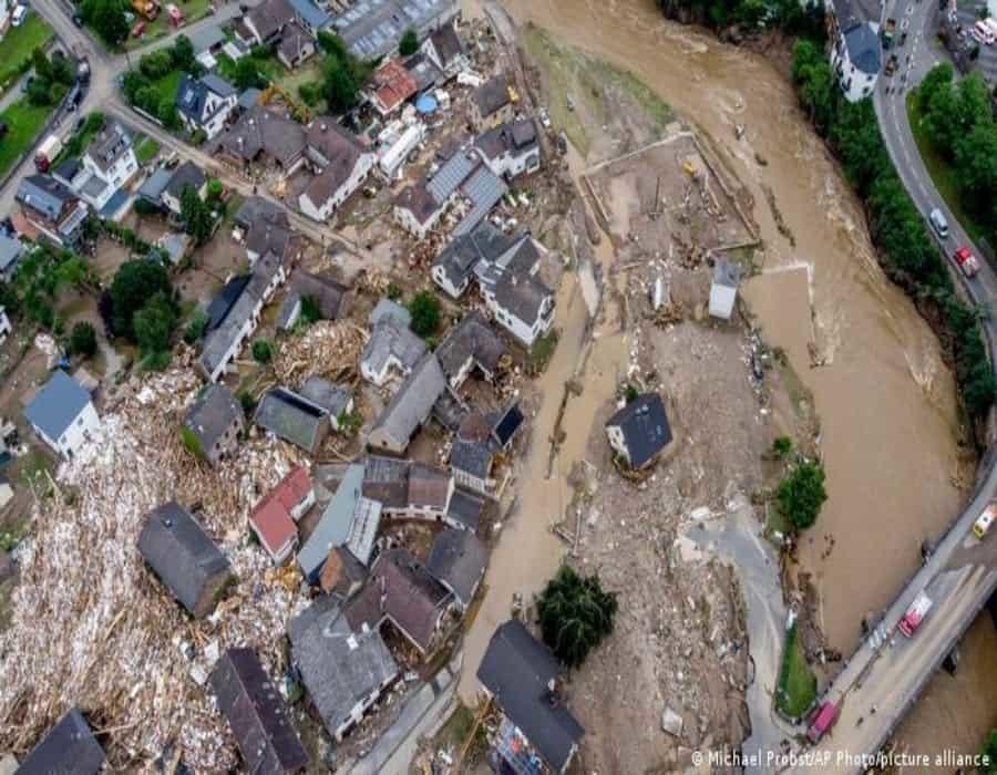 Alemania: lluvias dan tregua a zonas devastadas por las inundaciones