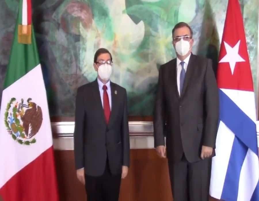 HRW Califica de infame reunión de Ebrard con canciller cubano