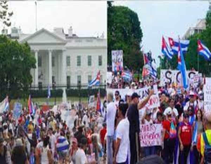 Exilio se moviliza a Washington para exigir acciones contundentes contra régimen cubano