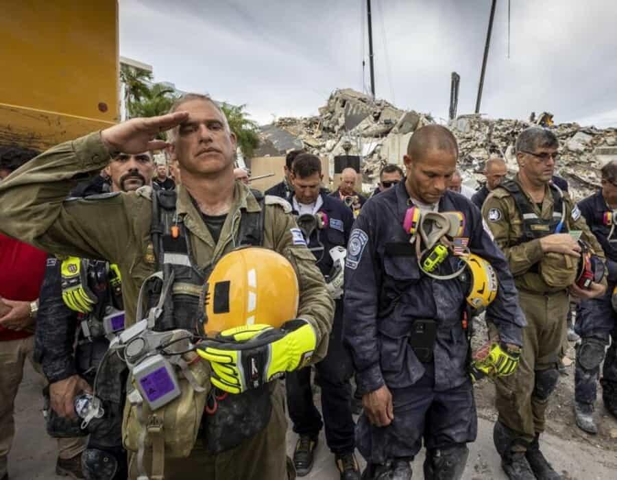 Equipo israelí concluye labores en edificio de Miami