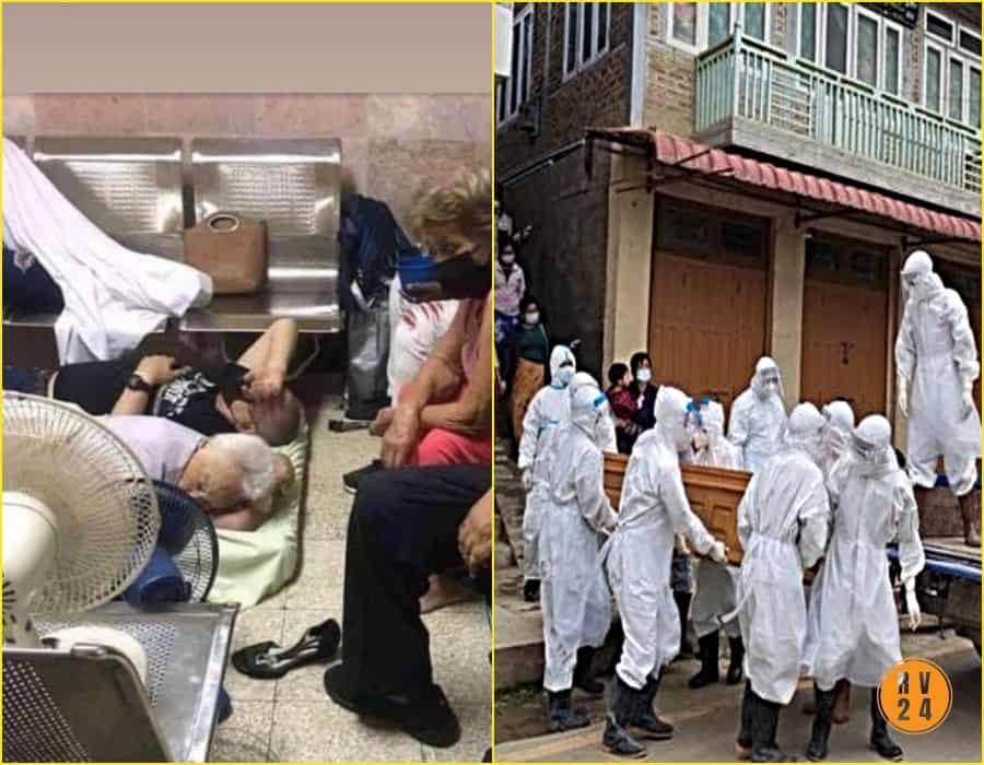 Caos en los hospitales de Cuba; los enfermos de COVID 19 mueren por falta suministro de oxígeno (Llamadas a Cuba)