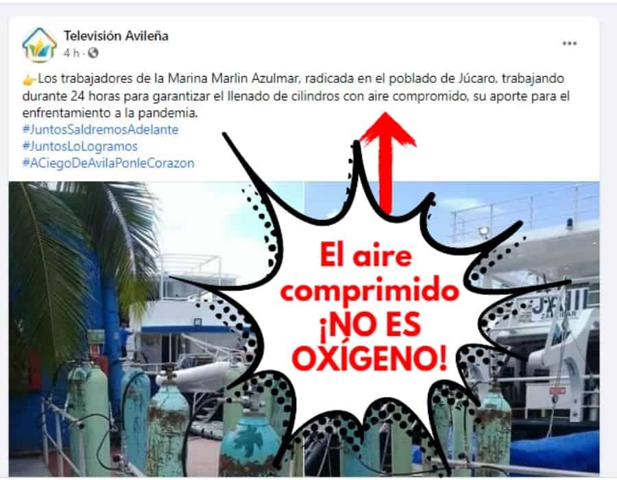 Genocidio en Cuba: enfermos críticos de COVID 19 son tratados con aire comprimido, no con oxígeno