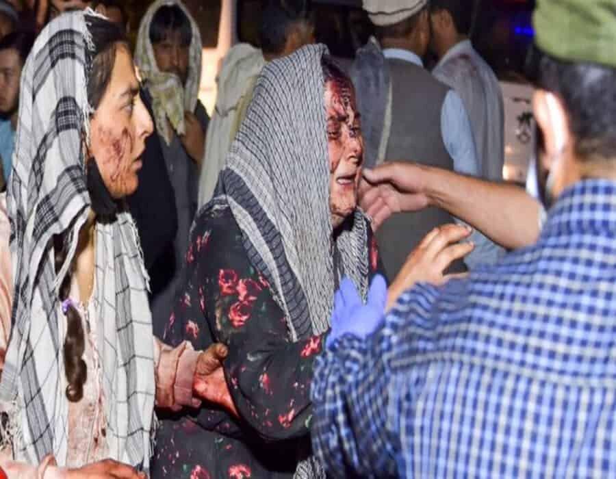 Vídeo: primeras imágenes tras el atentado suicida en el aeropuerto de Kabul