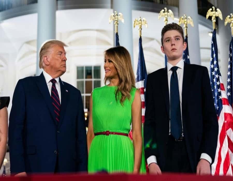 El hijo menor de Trump estudiará el nuevo curso en selecto colegio de Florida