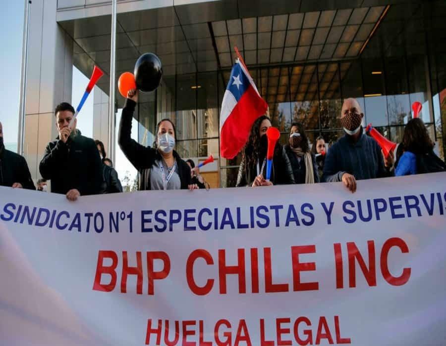 Chile: huelga en la mina de cobre de mayor producción en el mundo