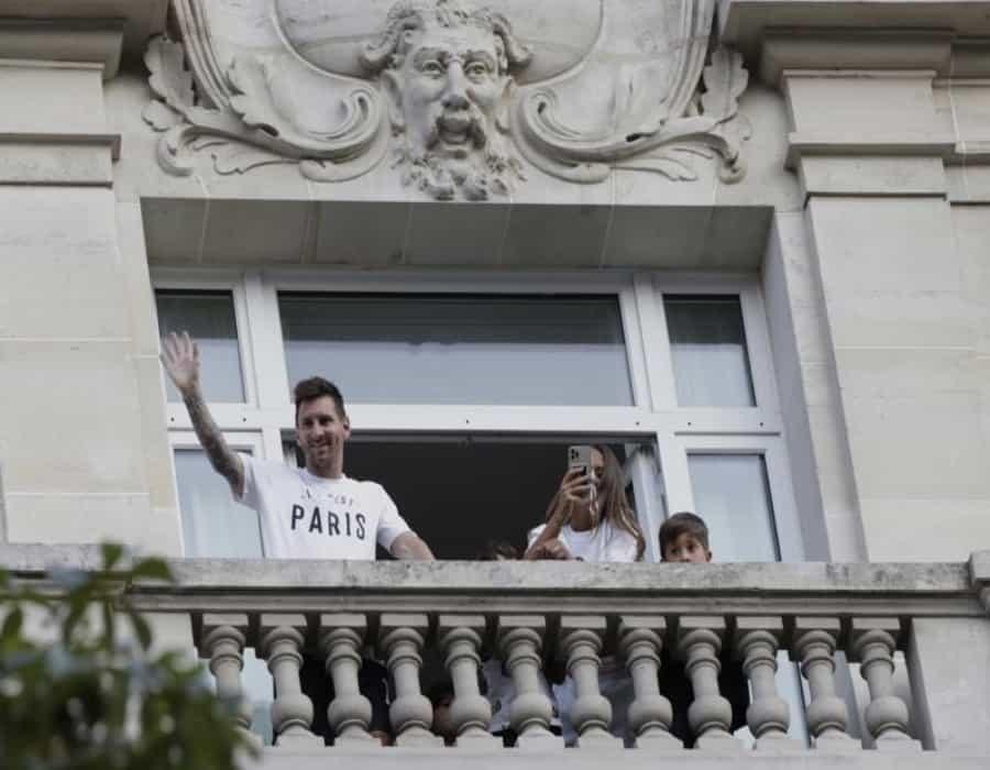 Messi dice que está muy feliz desde su llegada al PSG