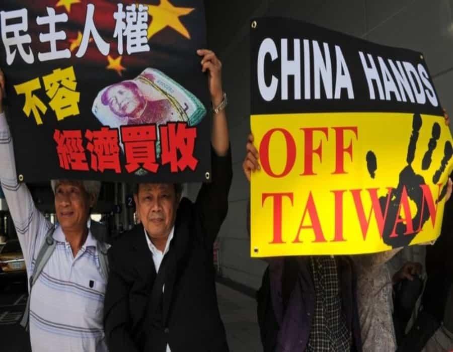 Presidenta de Taiwán dice que la isla no se rendirá ante China